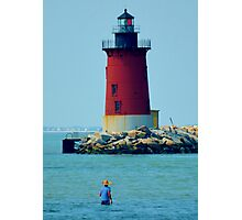 Cape Henlopen Lighthouse Photographic Print