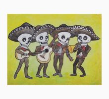 Mariachi Calacas Sticker by mertalou