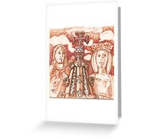 Jerónimos sketch I Greeting Card