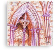 Évora Cathedral I Canvas Print
