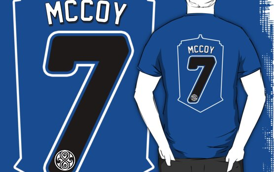 Gallifrey United #2 McCoy by zerobriant
