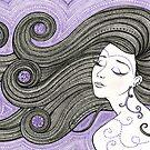 Violet Hour by Mariya Olshevska