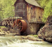 Gristmill in Spring by Dawn Crouse