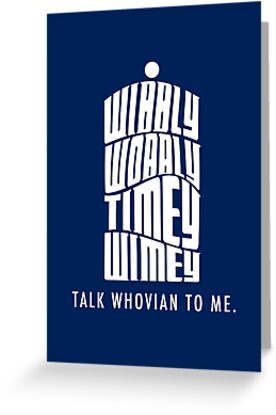 Talk Whovian To Me by trekvix