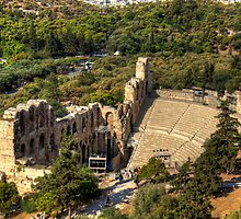 Odeon of Herodes Atticus by Tom Gomez