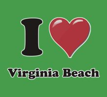 I Heart / Love Virginia Beach by HighDesign