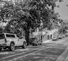Parliament Street in Nassau, The Bahamas by 242Digital