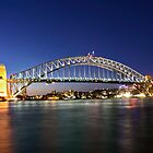 Sydney Harbour bridge by Damian Morphou