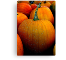 Jack 'O Lanterns to be Canvas Print