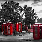 The Phonebox Graveyard by Ian Hufton