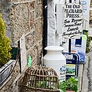 The Old Pilchard Press 2 ~ Mousehole by Susie Peek