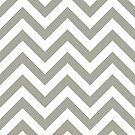 zigzag chevron pattern in gray color by nadil