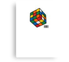 Just Rubik Canvas Print