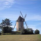 Windmill, France by FrancesArt