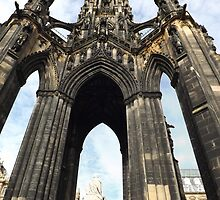 Sir Walter Scott Monument by emanon