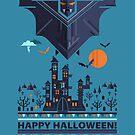 Halloween illustration by mmedusssa