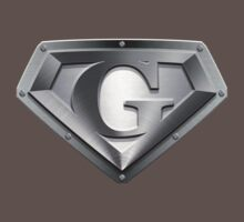 Steel Plated G Letter by adamcampen