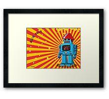 Devo Bots 002 Framed Print