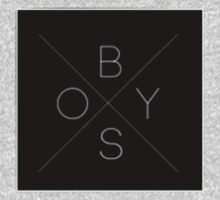Crossing Lines Logo Patch by BoysClothingCo
