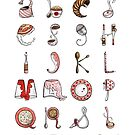 Spills &amp; Spoons Alphabet by Mariya Olshevska
