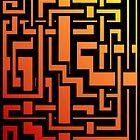 Abstract Incandescent Labirint by Rastaman