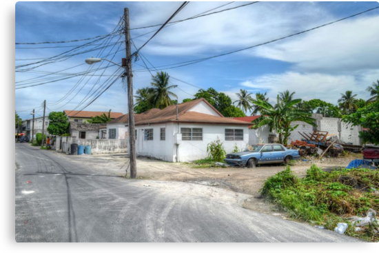 Urban area around Wulff Road in Nassau, The Bahamas by 242Digital