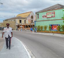 Entering Downtown Nassau from the West side in The Bahamas by 242Digital