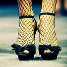 Fishnets and Heels by TrueloveStudios