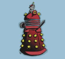 Dalek Kitty Empire Kids Clothes