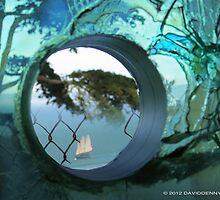 Alcatraz 3 inch thick window by David Denny