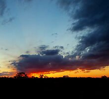 Big sky evening by Penny Kittel