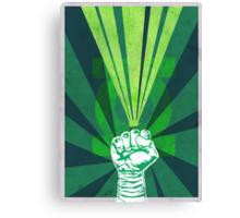 Green Lantern's light Canvas Print