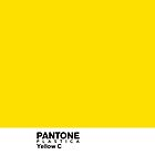 Pantone Plastica Yellow C iPhone case by Plastica Tees