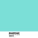 Pantone Plastica 3245 C iPhone case by Plastica Tees