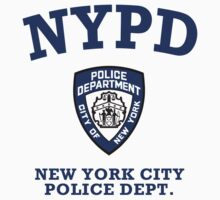 NYPD - New York City Police Department by avdesigns