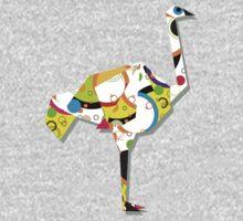 Ostrich by Richard Laschon