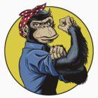Chimp Power! by Dennis Culver