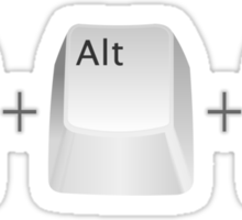 Ctl+Alt+Del Sticker