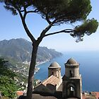 View from Ravello by Mark Baldwyn