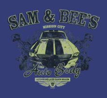 Sam & Bee's Auto Body! by CoDdesigns