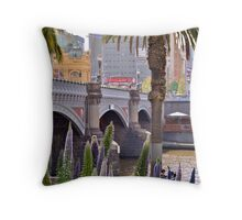 Sturdy Bridge Throw Pillow