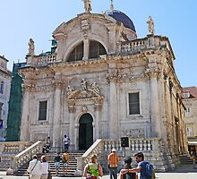 Church of St Blaise, Dubrovnik by Graeme  Hyde