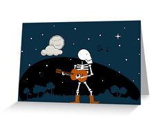 Song of the Night Greeting Card