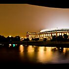 The Rangers Ballpark at Arlington, Texas.  by Rafiul Alam