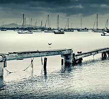 Corio Bay on a lazy Sunday afternnoon by Mick Kupresanin