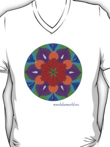 Buddhist Flower Mandala n2 T-Shirt
