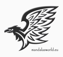 Amerindian Eagle n2 Dark by Mandala's World