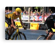 Bradley Wiggins - Tour de France 2012 in Paris Canvas Print