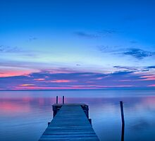At the end of a pier near Dawn. by matt1960