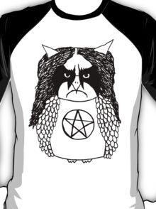 Black Metal Owl T-Shirt